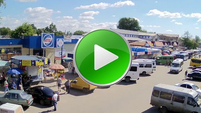 Webcam Parking cerca del supermercado ATB en el mercado
