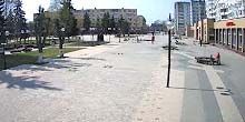 Plaza Afanasyev - Webcam, Klin