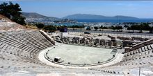 Anfiteatro antiguo, vista del castillo - Webcam, Bodrum