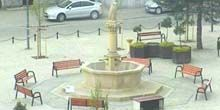 La plaza central del pueblo de Belyava. - Webcam, Wroclaw