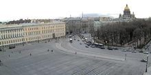 Plaza del palacio - Webcam, San Petersburgo