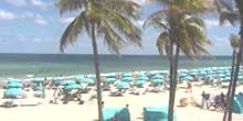 Playa de hollywood - Webcam, Miami