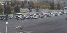 Plaza Lenin - Webcam, Novosibirsk