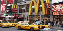 McDonald's en Times Square - Webcam, Nueva york