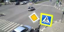 Crossroads of Science Avenue y ul. Espacio - Webcam, Jarkov
