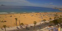 Costa con playas Costa Blanca - Webcam, Valencia
