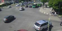 Crossroads of Science Avenue y ul. Novgorod - Webcam, Jarkov