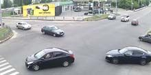 OKKO gasolinera en los guardias Shironintsev - Webcam, Jarkov