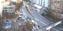 Red Banner Avenue, centro comercial Pacific - Webcam, Vladivostok