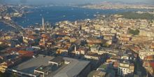 Panorama desde arriba - Webcam, Estambul