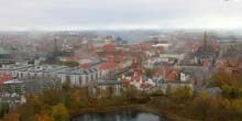 Panorama desde arriba - Webcam, Copenhague
