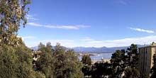 Panorama desde arriba - Webcam, Ajaccio