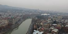 Panorama desde arriba - Webcam, Tbilisi