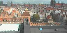Panorama desde arriba - Webcam, Gdansk