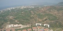 Panorama desde arriba - Webcam, Alanya