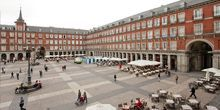 Plaza mayor - Webcam, Madrid