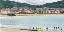 Playa en la bahia de Plencia - Webcam, Bilbao