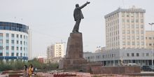 Plaza central de Lenin - Webcam, Yakutsk