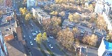 Poplar Alley en Red Banner Avenue - Webcam, Vladivostok