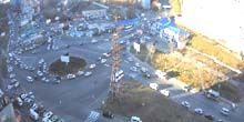 Anillo de carretera en Red Banner Avenue - Webcam, Vladivostok