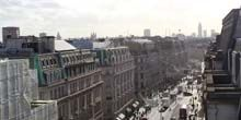 Calle regente - Webcam, Londres