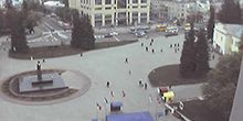 Plaza del teatro - Webcam, Lutsk