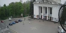 Plaza del teatro - Webcam, Mariupol