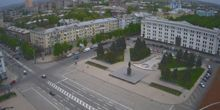 Plaza del teatro - Webcam, Lugansk