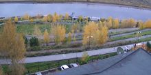 Panorama del río Tom - Webcam, Tomsk