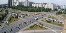 Troeschina - panorama - Webcam, Kiev
