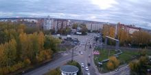 Plaza sur - Webcam, Tomsk
