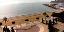 Playas y puerto en el municipio de Altea - Webcam, Valencia