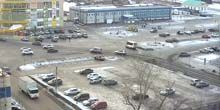 Plaza de la estación Shukshin - Webcam, Biysk