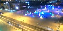 Plaza central - Webcam, Novy Urengoy