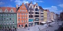 Plaza del Mercado - Webcam, Wroclaw
