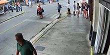 Vista de la calle del bar Sloppy Joes - Webcam, Key West (Key West)