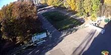 Plaza frente al estadio Vorskla - Webcam, Poltava