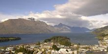 Vista del lago Wakatipu - Webcam, Queenstown